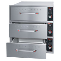 Hatco HDW-3BN Built-In Narrow Three Drawer Warmer - 240V, 1350W