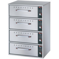 Hatco HDW-4 Freestanding Four Drawer Warmer - 240V, 1800W