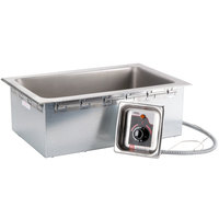 APW Wyott HFW-1D Insulated Drop In Food Warmer with Drain - 208/240V
