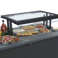 Hatco GRSSB-2418 24 inch x 18 inch Glo-Ray Built-In Gray Granite Heated Stone Warmer Shelf - 120V, 635W