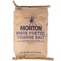 Morton 50 lb. White Pretzel M Salt