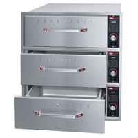 Hatco HDW-3B Built-In Three Drawer Warmer - 120V, 1350W