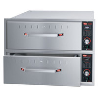 Hatco HDW-2BN Built-In Narrow Two Drawer Warmer - 208V, 900W