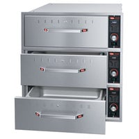 Hatco HDW-3BN Built-In Narrow Three Drawer Warmer - 120V, 1350W