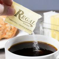 Regal Foods 1 Gram Yellow Sugar Substitute Packet - 2000/Case