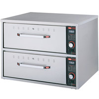 Hatco HDW-2 Freestanding Two Drawer Warmer - 900W