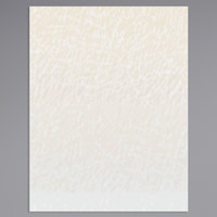 8 1/2 inch x 11 inch Menu Paper Middle Insert - Southwest Themed Desert Design - 100/Pack