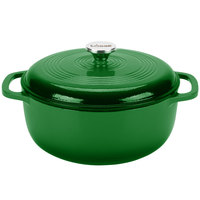 Lodge EC6D53 6 Qt. Emerald Green Color Enamel Dutch Oven
