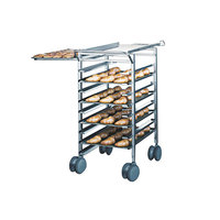 Rational 60.60.188 Height Adjustable Transport Trolley for 61 On 101 Combi Duo Ovens