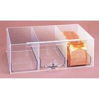 Cal Mil 1204 3 Level Bread Box 7 inch x 12 inch x 20 inch