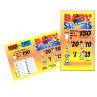 Babysitters 1 Window Pull-Tab Tickets - 1350 Tickets Per Deal - $247 Total Payout