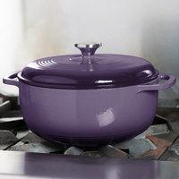 Lodge EC6D93 6 Qt. Cafe Purple Color Enamel Dutch Oven