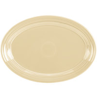 Homer Laughlin 456330 Fiesta Ivory 9 5/8 inch Small Oval Platter   - 12/Case