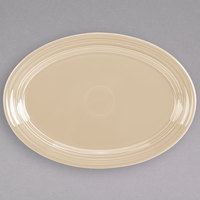 Fiesta Tableware from Steelite International HL456330 Ivory 9 5/8 inch x 6 7/8 inch Oval Small China Platter - 12/Case