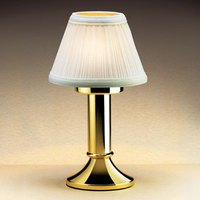 Sterno Products 85202 Paige II Polished Brass Lamp Base