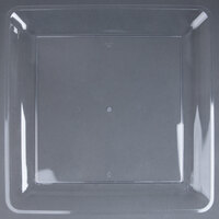Fineline Platter Pleasers 3581-CL 18 inch x 18 inch Plastic Clear Square Tray
