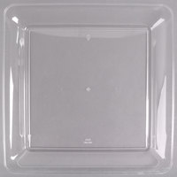 Fineline Platter Pleasers 3541-CL 14 inch x 14 inch Plastic Clear Square Tray