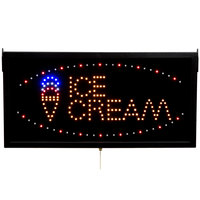 Aarco ICE13L Ice Cream LED Sign