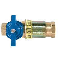 Dormont CF-75 3/4 inch Safety Quik Quick Disconnect Fitting for Gas Hoses