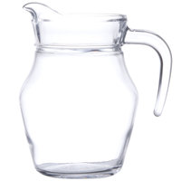 Arcoroc E7258 16 oz. Glass Pitcher with Pour Lip by Arc Cardinal - 12/Case