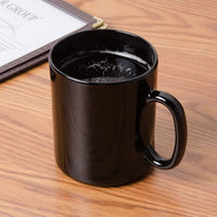 Arcoroc 73442 10.5 oz. Black Fully Tempered Glass Mug by Arc Cardinal - 12/Case