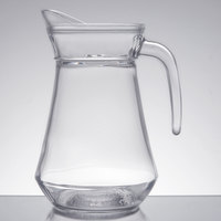 Arcoroc E7255 34 oz. Glass Pitcher with Pour Lip by Arc Cardinal - 6/Case