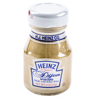 Heinz Dijon Mustard 2 oz. Mini Bottle   - 60/Case