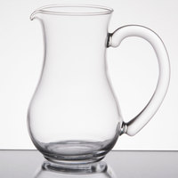 Arcoroc C0216 8.5 oz. Glass Pitcher with Pour Lip by Arc Cardinal - 12/Case