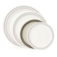 GET NP-7-CA 7 1/4 inch Diamond Cambridge Narrow Rim Plate - 48/Case
