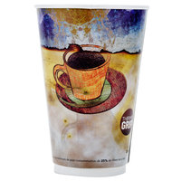 LBP 3012 Monaco 20 oz. Printed Double-Wall Poly Paper Hot Cup - 27 / Pack