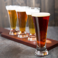 Libbey 1241HT 4.75 oz. Flare Beer Sampler Glass - 4/Pack