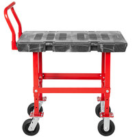 Rubbermaid FG447200BLA Work-Height Platform Truck - 36 inch x 24 inch