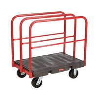 Rubbermaid FG446700BLA Table Truck - 36 inch x 24 inch