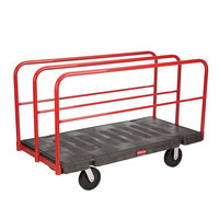 Rubbermaid FG446900BLA Table Truck - 60 inch x 30 inch