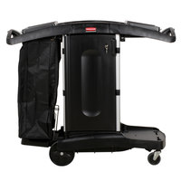 Rubbermaid FG9T7600BLA Executive Compact Folding Housekeeping Cart