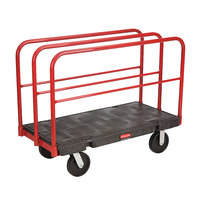 Rubbermaid FG446800BLA Table Truck - 48 inch x 24 inch