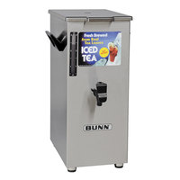Bunn 03250.0042 TD4T Tall 4 Gallon Square Iced Tea Dispenser with Lift Handle