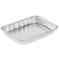 Durable Packaging 1300-30 8 3/4 inch x 6 1/4 inch Foil Danish Pan - 500 / Case