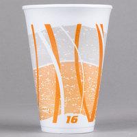 Dart 16LX16E 16 oz. Impulse Foam Cup   - 25/Pack