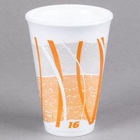 Dart 16LX16E 16 oz. Impulse Foam Cup   - 25/Pack