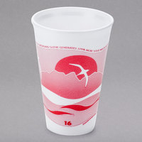 Dart 16LX16H 16 oz. Horizon Foam Cup - 25/Pack