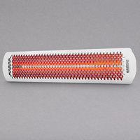 Bromic Heating BH0420012 White Tungsten Smart-Heat Electric Outdoor Patio Heater - 220/240V, 4000W