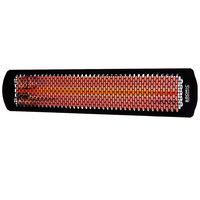 Bromic Heating BH0420031 Black Tungsten Smart-Heat Electric Outdoor Patio Heater - 220V, 3000W