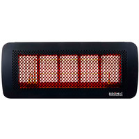 Bromic Heating BH0210003 Tungsten Smart-Heat 500 Series Natural Gas Outdoor Patio Heater - 43,000 BTU