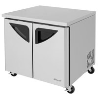 Turbo Air TUF-36SD Super Deluxe 36 inch Undercounter Freezer
