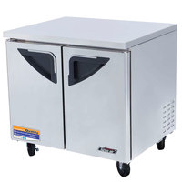 Turbo Air TUF-36SD Super Deluxe 36 inch Undercounter Freezer - 9.2 Cu. Ft.