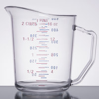Cambro 50MCCW135 Camwear 1 Pint Clear Measuring Cup