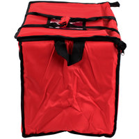 Food delivery bag with storage loops