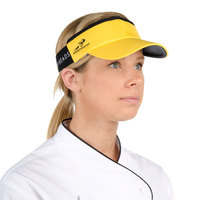 Yellow Headsweats Customizable 7703-205 CoolMax Chef Visor