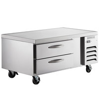 Beverage-Air WTRCS52-1 52 inch Two Drawer Refrigerated Chef Base